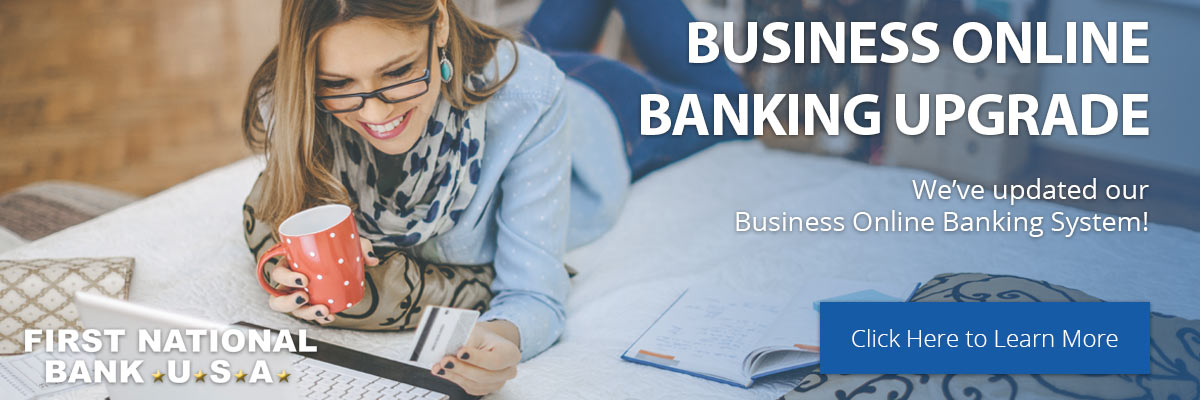 Business Online Banking Upgrade - Learn More